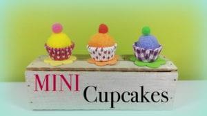 manualidades cupcakes