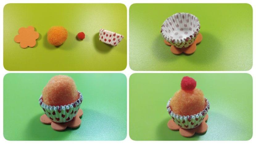 cupcakes manualidades