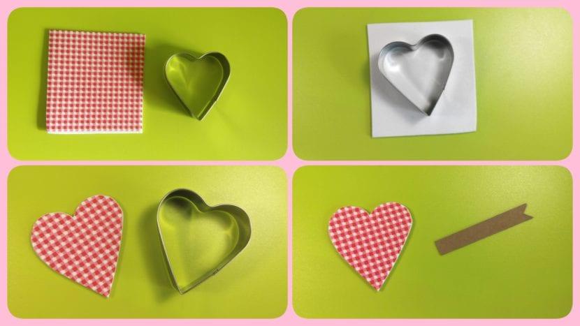 tags etiquetas corazones scrapbooking