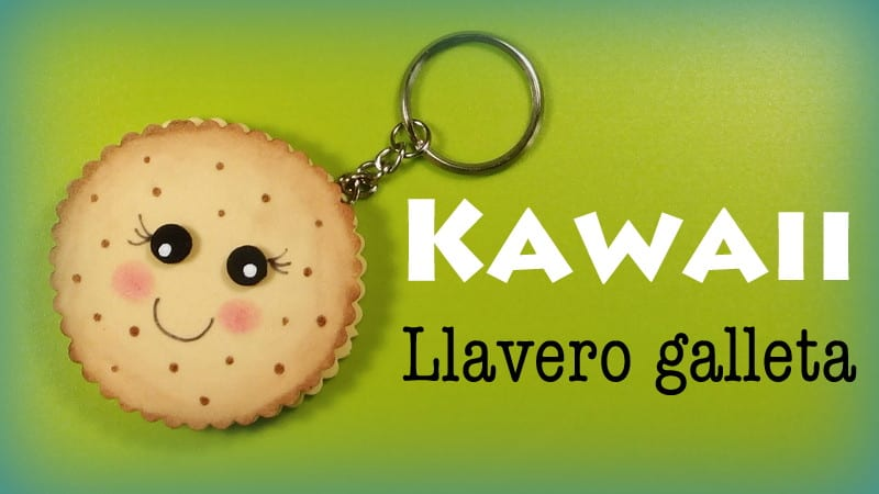 llavero kawaii galleta donlumusical
