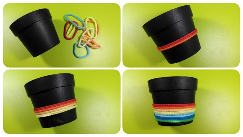 macetero de colores