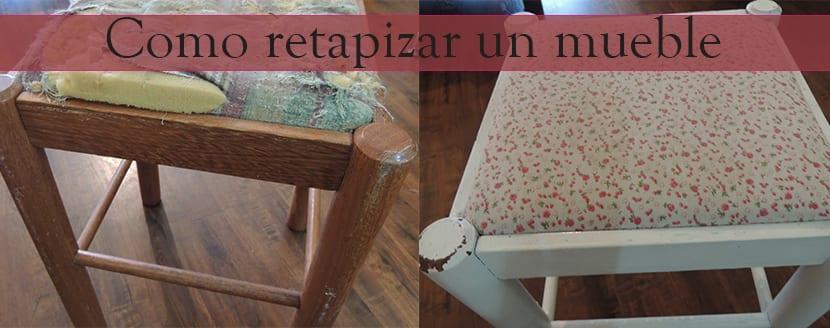 como retapizar un mueble