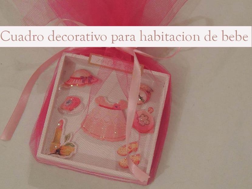 Como hacer un cuadro decorativo para habitaci n de beb - Cuadro habitacion bebe ...