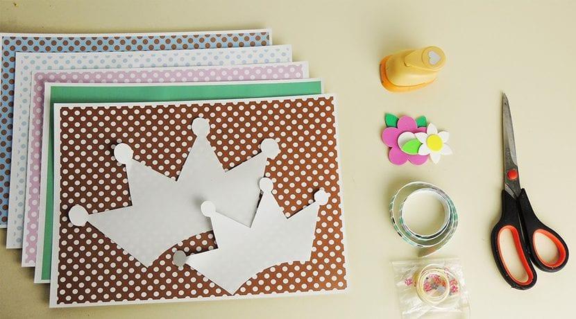 materiales coronitas para cumpleaños infantiles