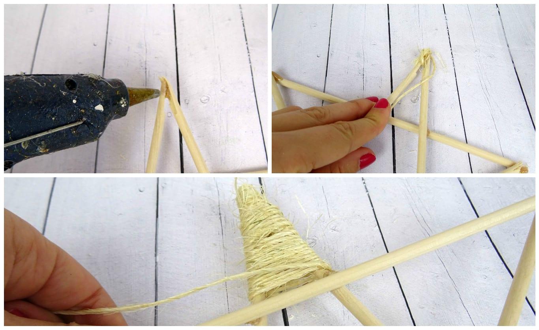 cubrir con cuerda