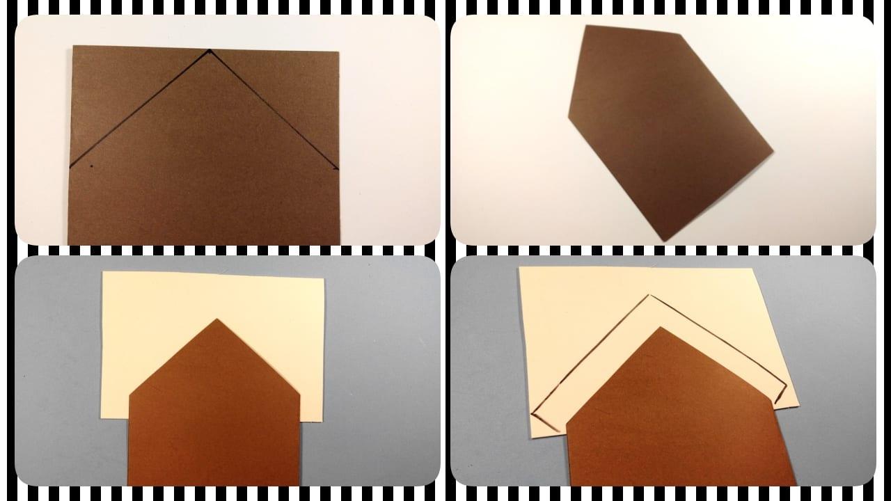 tarjeta de navidad casa de chocolatetarjeta de navidad casa de chocolate