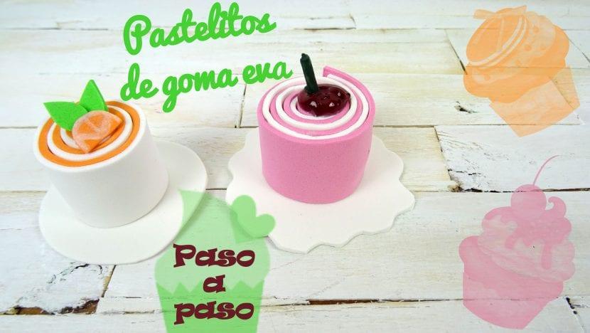 DIY Cmo hacer pastelitos de goma eva paso a paso