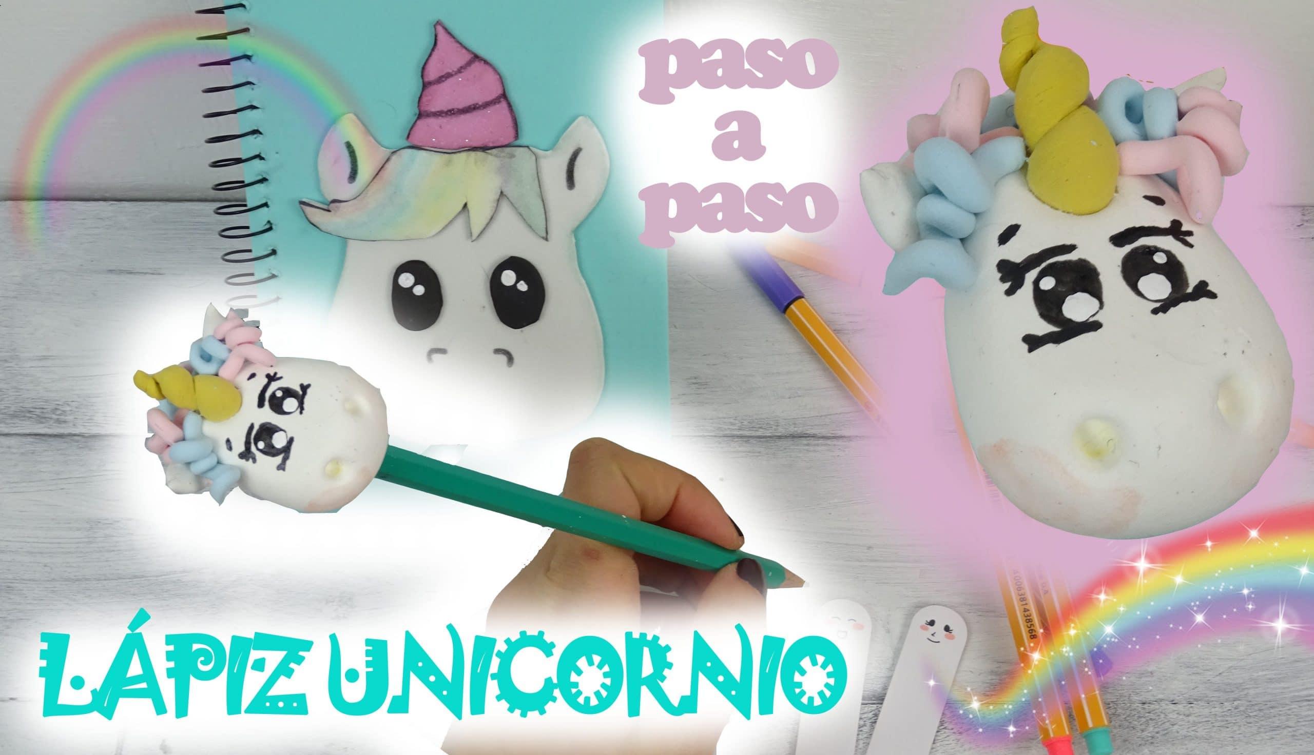 O Cómo Lápiz Unicornio Con Arcilla Fimo De Polimérica Hacer Un F13lKJuTc
