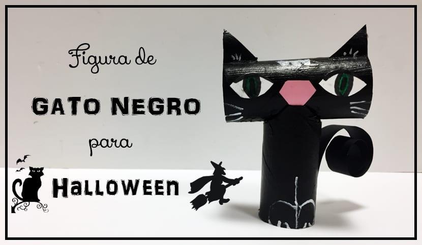 C mo hacer una figura de gato negro para halloween El gato negro decoracion