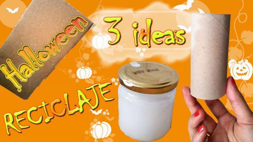 3 Ideas De Reciclaje Para Tus Manualidades De Halloween - Ideas-para-manualidades