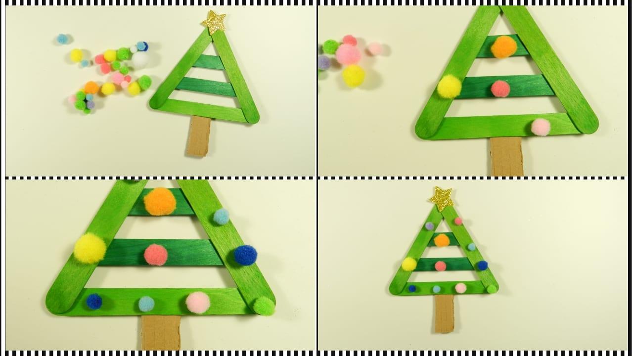 3 rboles de navidad muy f ciles para hacer con ni os - Arbol de navidad para ninos ...