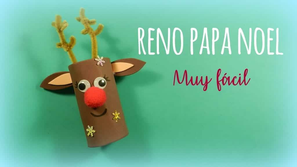 Manualidades de navidad reno de pap noel de goma eva for Manualidades con goma eva para navidad