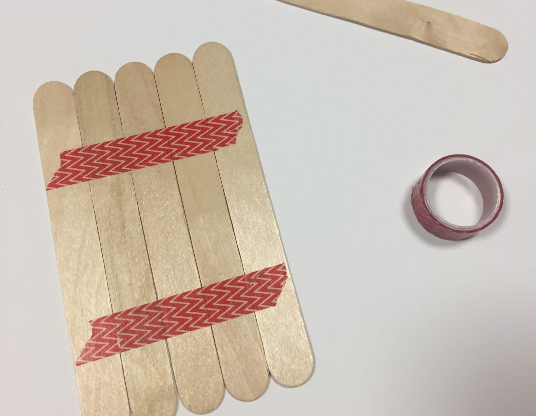 Tarjetas De Navidad Originales Realizadas Con Palillos De Madera - Tarjetas-originales-para-navidad