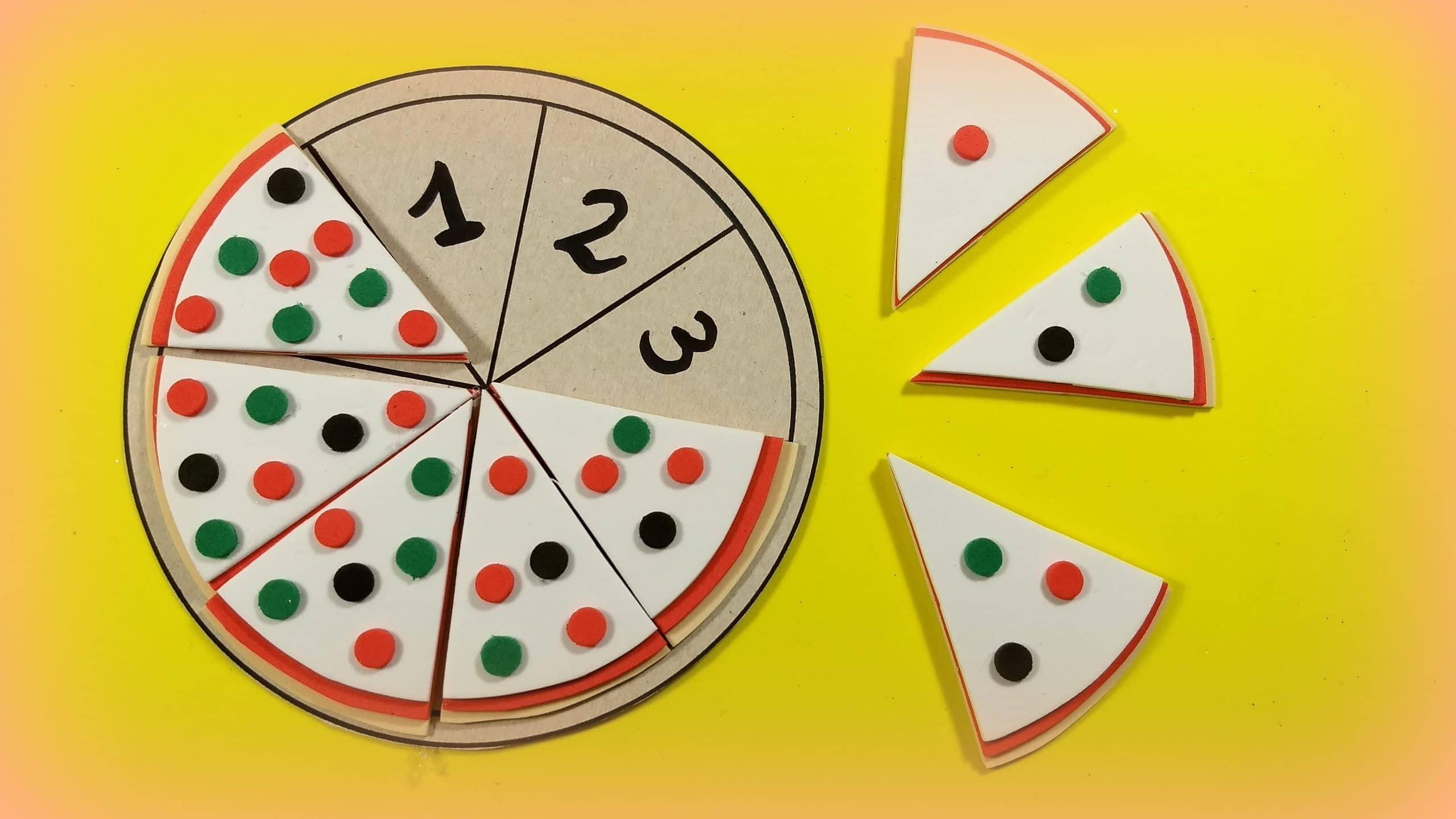 Juego educativo para aprender los números en Infantil