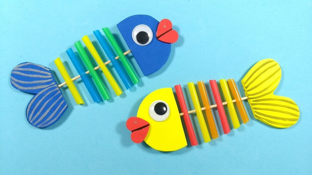 C mo hacer peces de goma eva para un acuario infantil for Como hacer un lago para peces