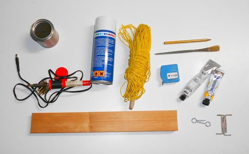 Preparación para hacer manualidades