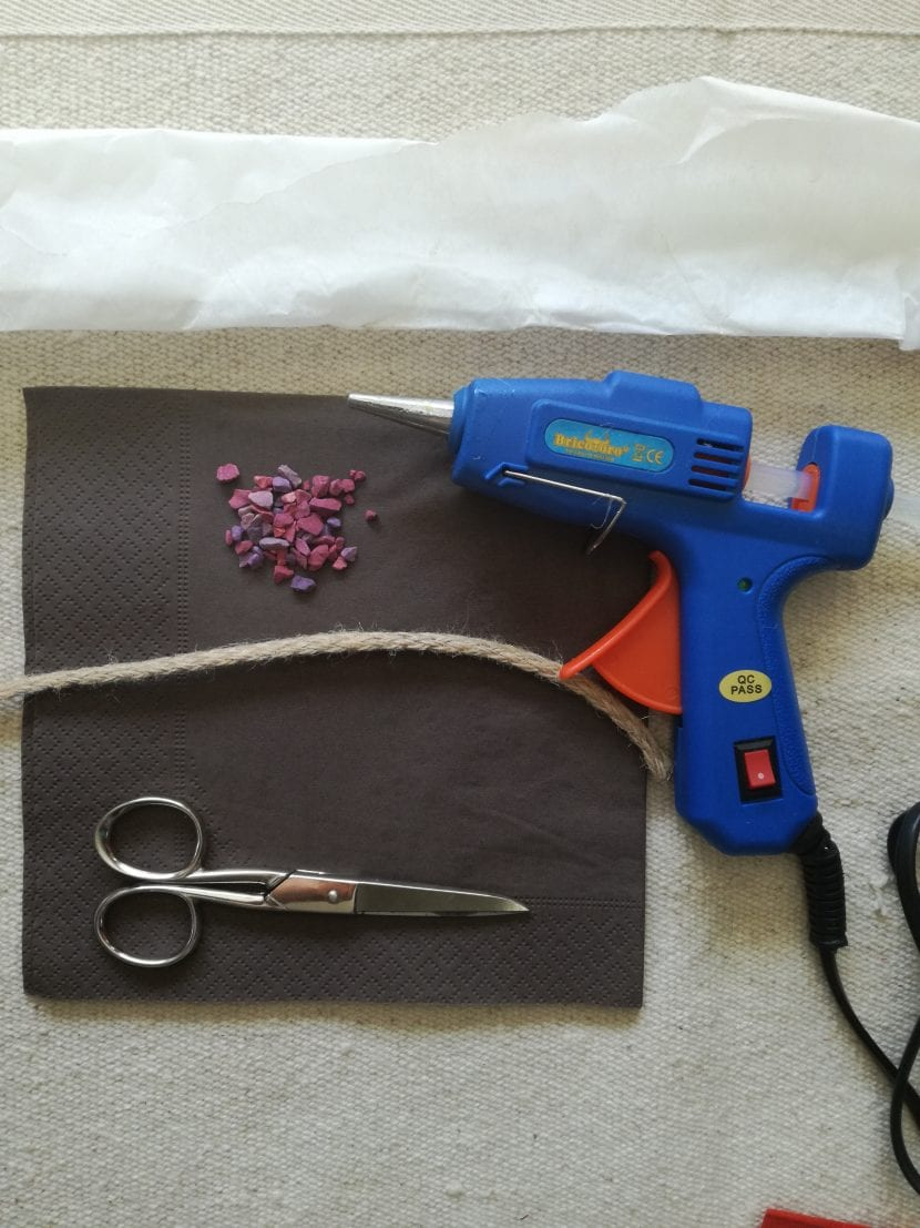 materiales pulsera DIY