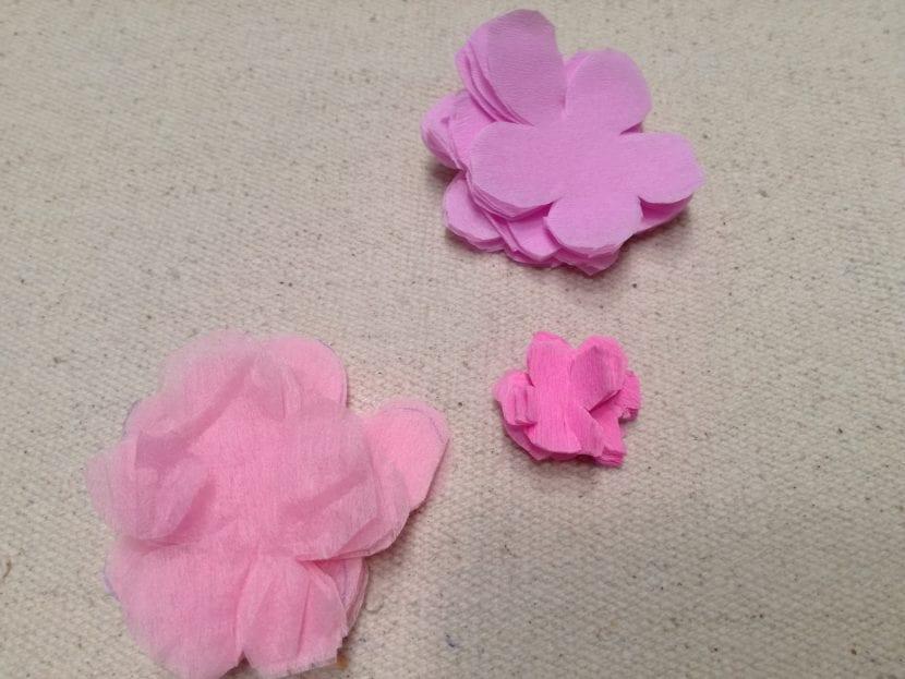 Flores de cerezo paso 3