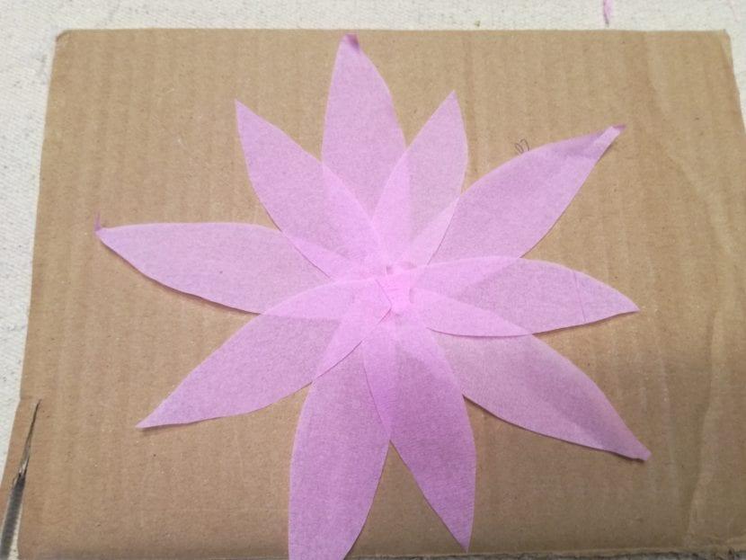 flor de loto paso 3