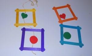 como hacer cuadros decorativos con materiales reciclados