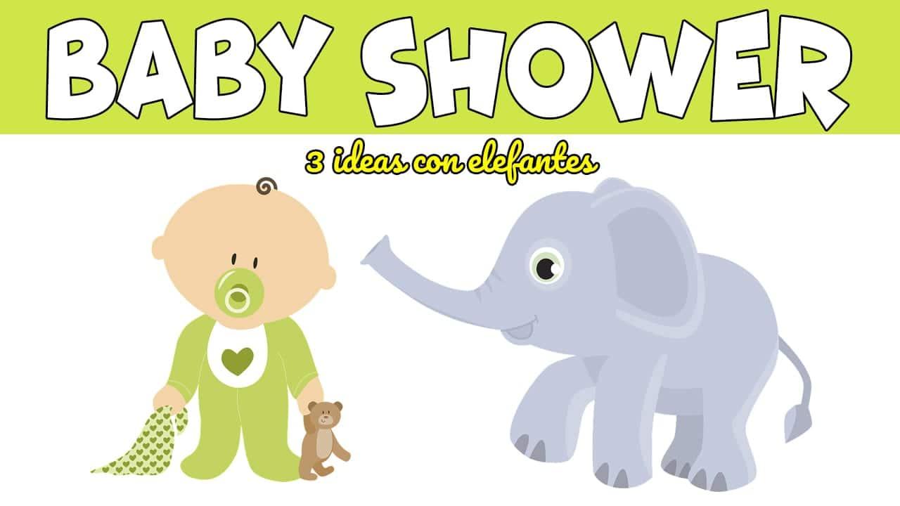 Ideas Para Baby Shower Elefante.3 Ideas Para Decorar Tu Baby Shower Con Elefantes