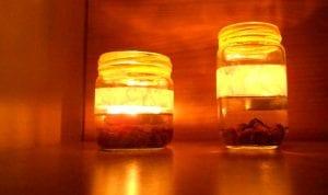 Cómo decorar con velas flotantes en el agua