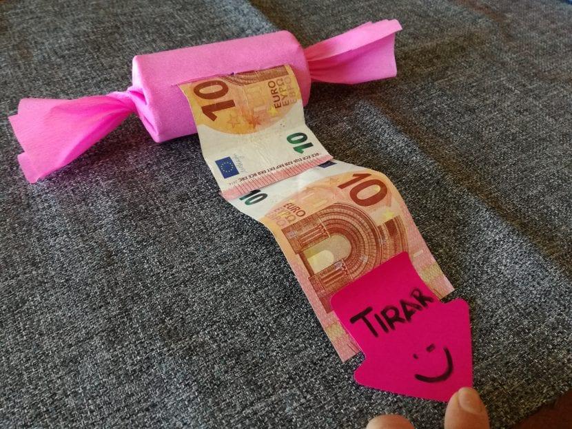 Regalar dinero paso 8