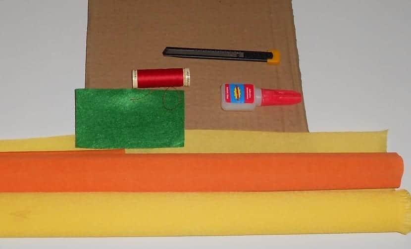 materiales para hacer manualidades fáciles para niños
