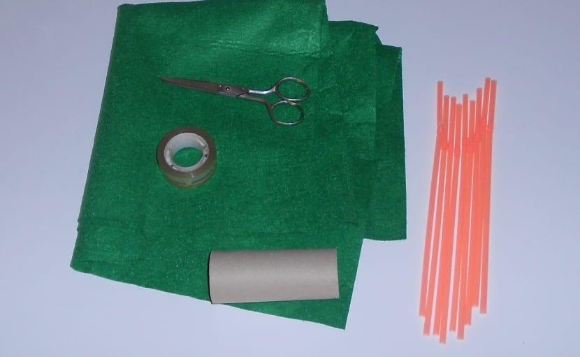 materiales para hacer una palmera de manualidades