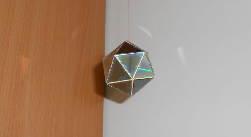 Manualidades con forma de poliedro
