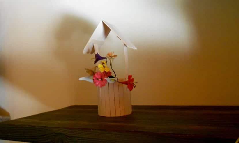 cómo hacer un pequeño florero personalizado