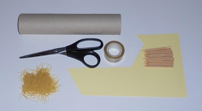 materiales para hacer un palo de agua