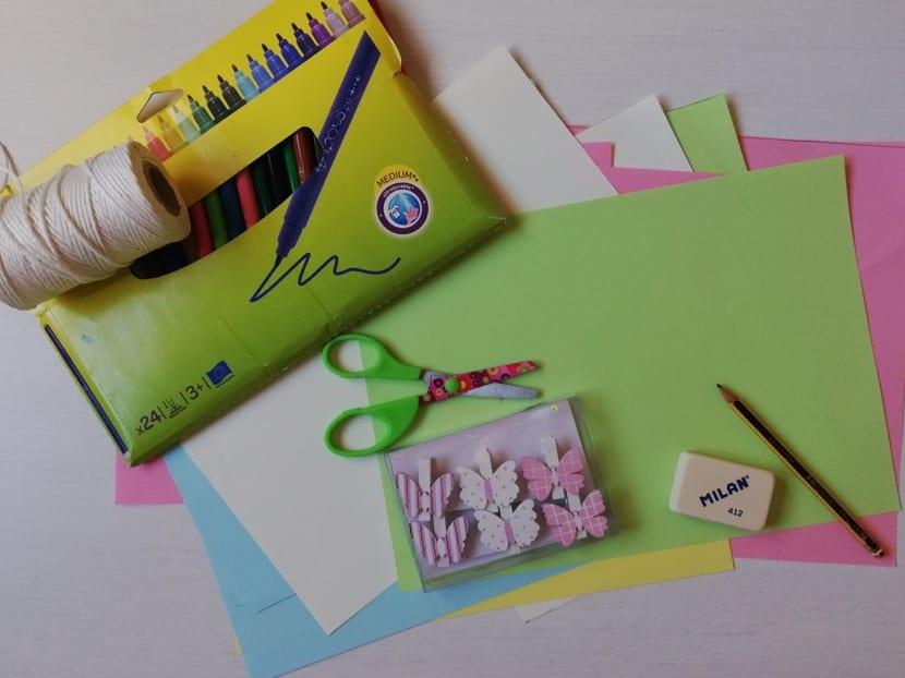materiales para hacer guirnalda de piñas
