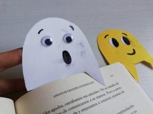 marcapaginas de fantasmas