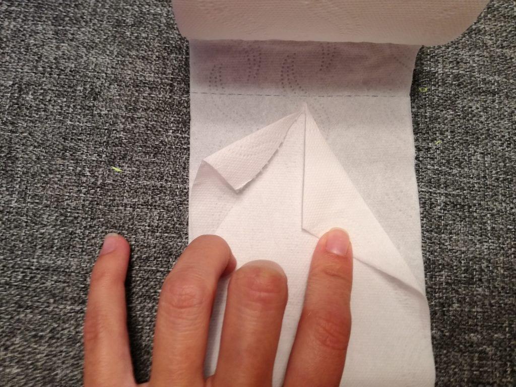 Origami para el rollo de papel higiénico | Manualidades On