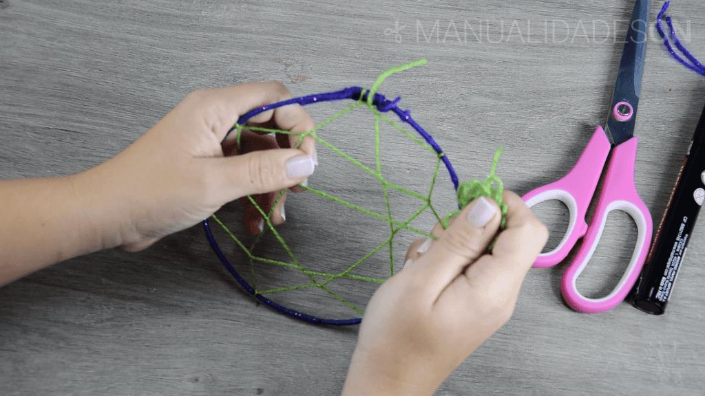 Aprende a hacer un atrapasueños