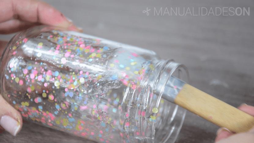 manualidades con tarros de cristal reciclando para niños