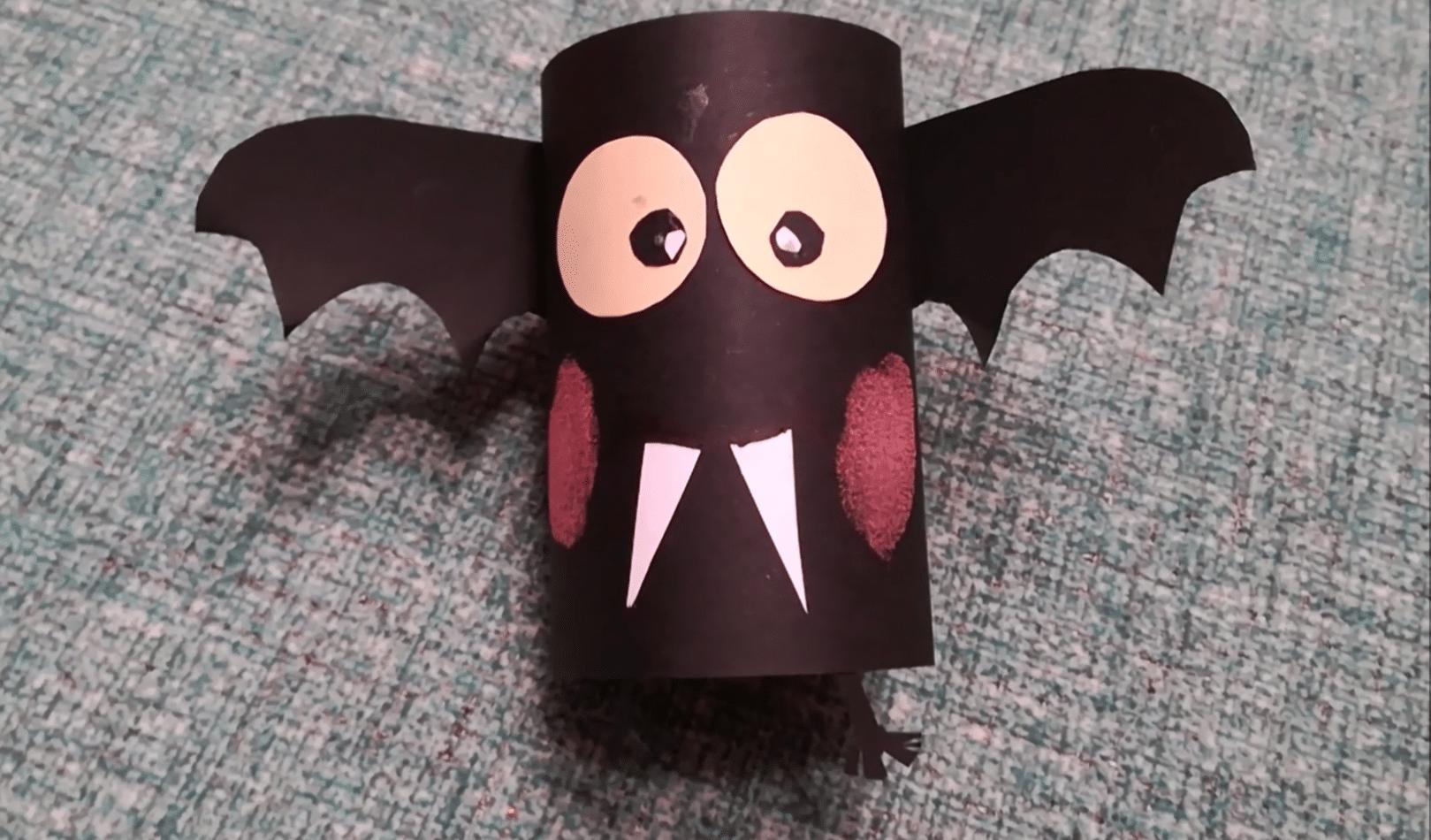 Murciélago rollos de papel