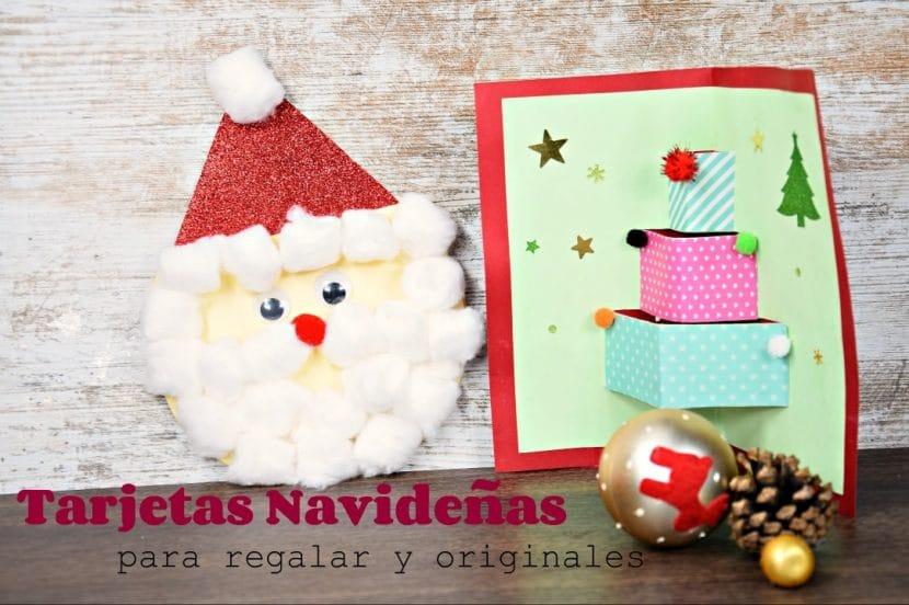 Tarjetas Navideñas para regalar muy originales