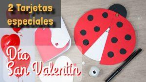 tarjeta para San Valentín