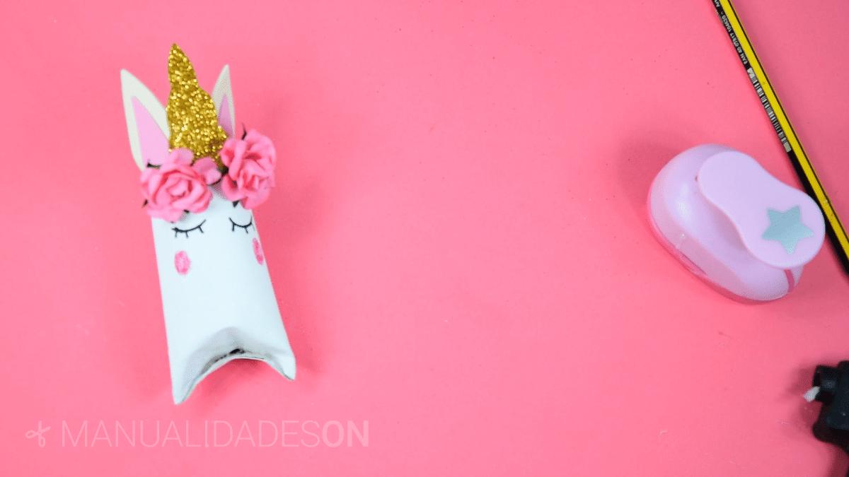 Bolsitas caramelos con forma de unicornio