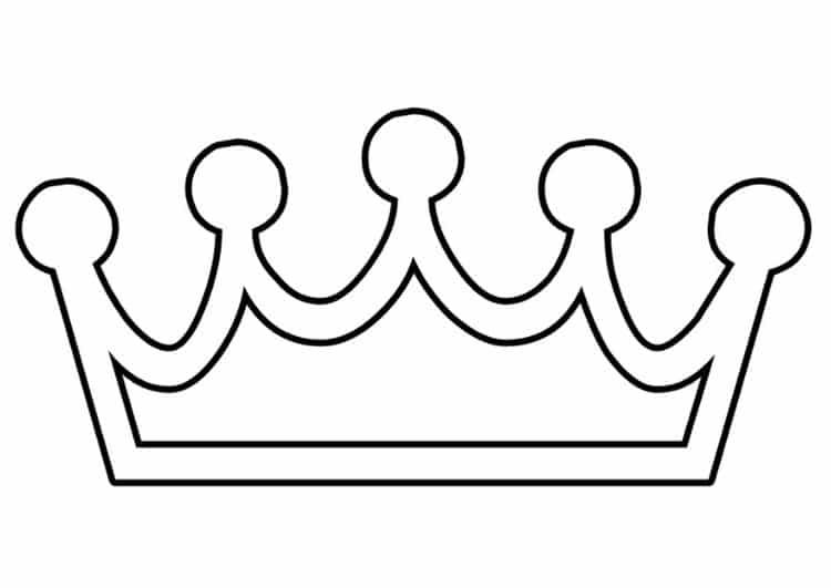 plantilla de corona