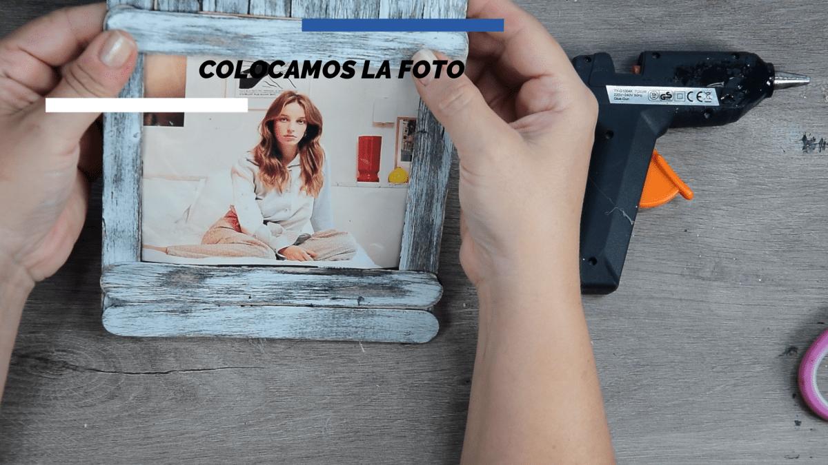 Marco de fotos con aspecto vintage