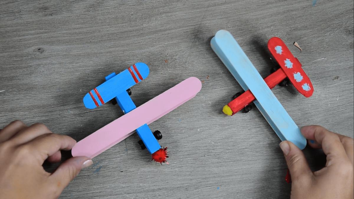 Aviones reciclados