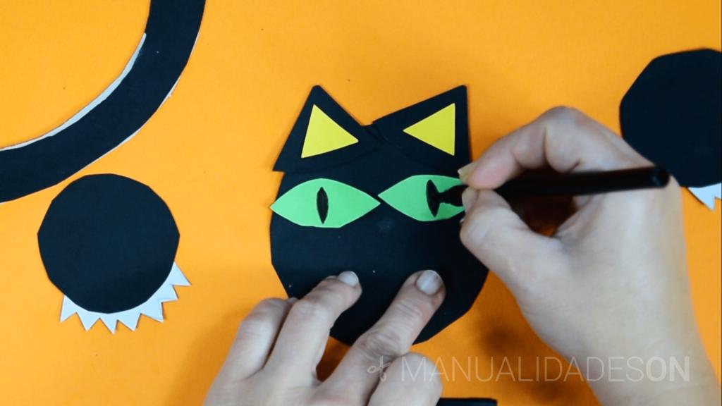 Gato para Halloween