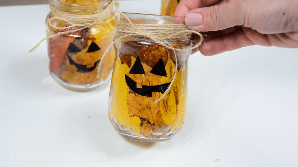 Tarros de cristal para Halloween