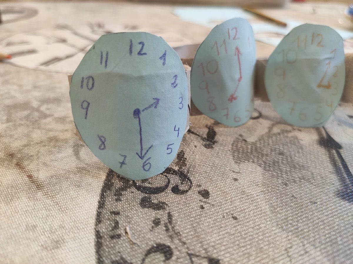 Relojes para aprender las horas de forma divertida con los niños