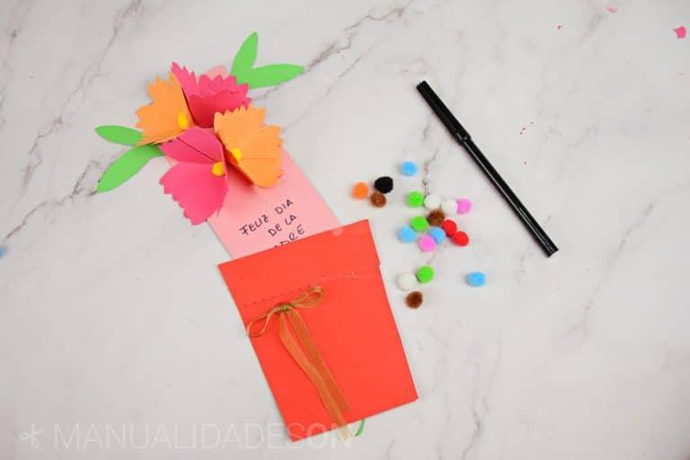Tarjeta para regalar el día de la madre