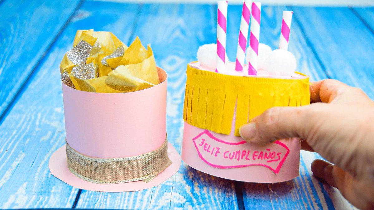 Cajita de Tarta de Cumpleaños