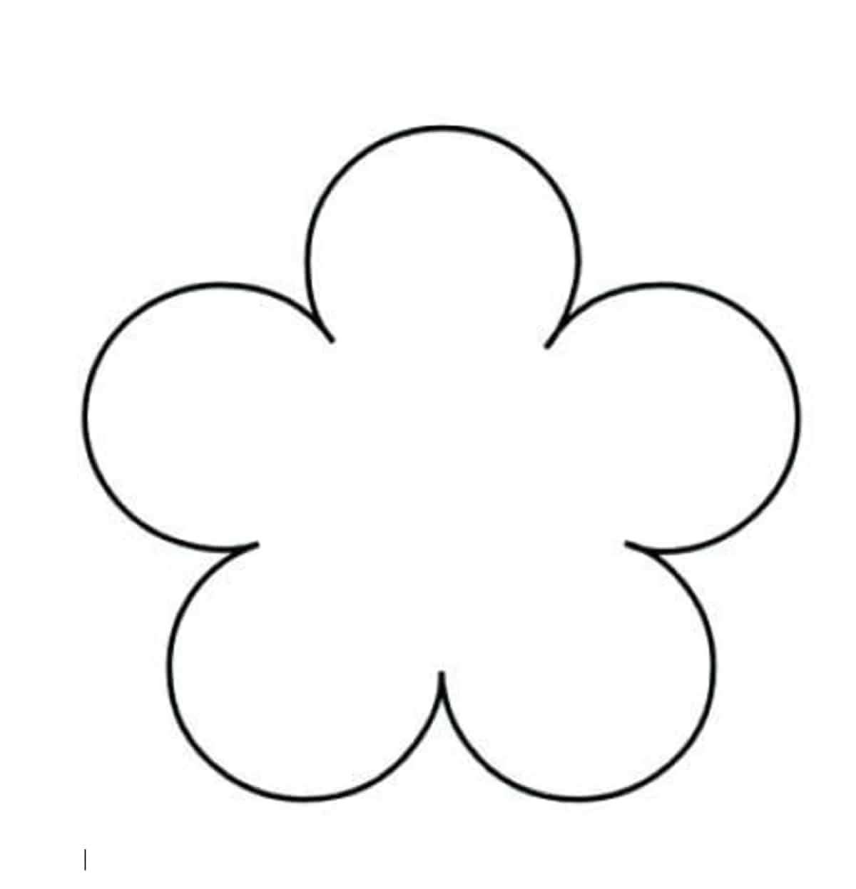 Flor para imprimir